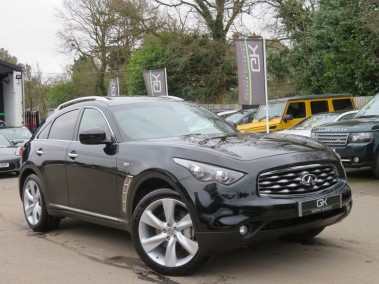 Infiniti FX FX50S- ONLY ONE FOR SALE IN UK! - 5 LITRE V8 -RARE CAR - 360 CAMERAS/SATNAV