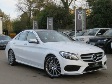 "Mercedes-Benz C Class C250 D AMG LINE PREMIUM PLUS -PAN ROOF/RED LEATHER/CAMERA/KEYLESS/19""ALLOYS"