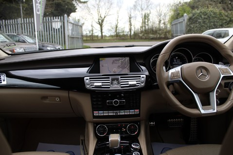 Mercedes-Benz CLS CLS63 AMG BI-TURBO - TV/DAB/HARMAN-KARDON/COOLED MASSAGE SEATS 30