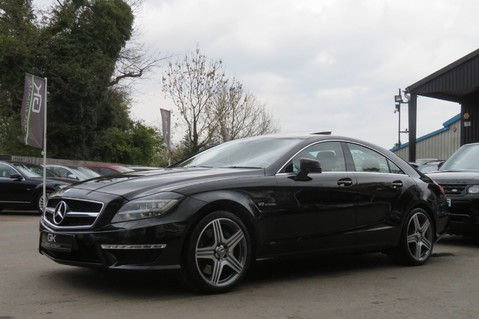 Mercedes-Benz CLS CLS63 AMG BI-TURBO - TV/DAB/HARMAN-KARDON/COOLED MASSAGE SEATS 79