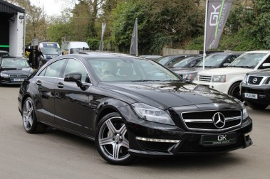 Mercedes-Benz CLS CLS63 AMG BI-TURBO - TV/DAB/HARMAN-KARDON/COOLED MASSAGE SEATS