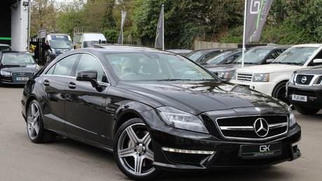 Mercedes-Benz CLS CLS63 AMG BI-TURBO - TV/DAB/HARMAN-KARDON/COOLED MASSAGE SEATS Video