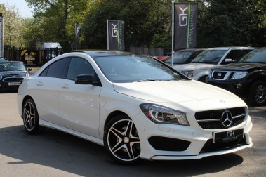 Mercedes-Benz Cla Class CLA220 DCT CDI AMG SPORT - PAN ROOF/SAT NAV/XENONS/NIGHT PACKAGE