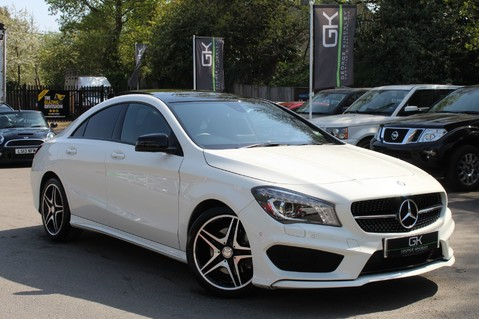 Mercedes-Benz Cla Class CLA220 DCT CDI AMG SPORT - ULEZ READY - PAN ROOF/SAT NAV/XENONS/NIGHT PACK 1