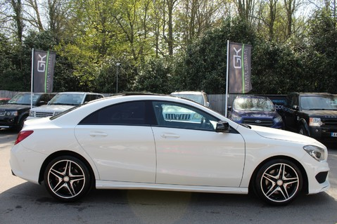 Mercedes-Benz Cla Class CLA220 DCT CDI AMG SPORT - ULEZ READY - PAN ROOF/SAT NAV/XENONS/NIGHT PACK 6