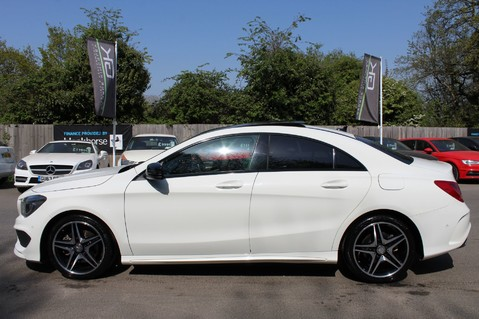 Mercedes-Benz Cla Class CLA220 DCT CDI AMG SPORT - ULEZ READY - PAN ROOF/SAT NAV/XENONS/NIGHT PACK 8