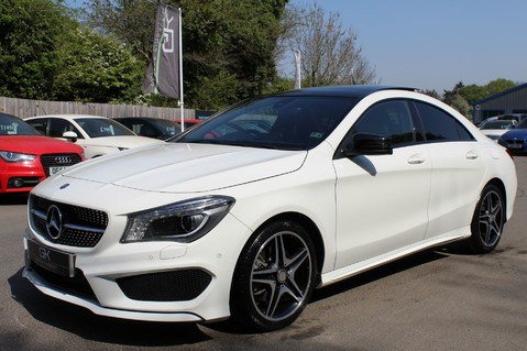 Mercedes-Benz Cla Class CLA220 DCT CDI AMG SPORT - ULEZ READY - PAN ROOF/SAT NAV/XENONS/NIGHT PACK 9