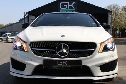 Mercedes-Benz Cla Class CLA220 DCT CDI AMG SPORT - ULEZ READY - PAN ROOF/SAT NAV/XENONS/NIGHT PACK 12