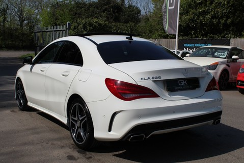 Mercedes-Benz Cla Class CLA220 DCT CDI AMG SPORT - ULEZ READY - PAN ROOF/SAT NAV/XENONS/NIGHT PACK 2