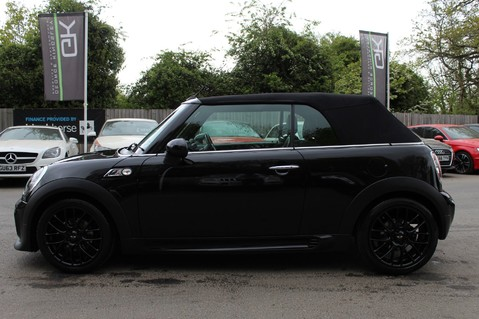 Mini Convertible COOPER SD -JCW AERO KIT- £7470 WORTH OF EXTRAS - SATNAV/DAB/XENON/KEYLESS 9