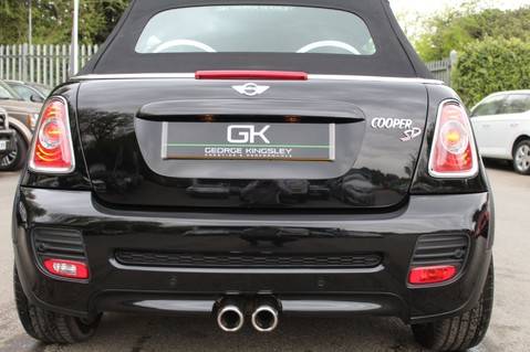 Mini Convertible COOPER SD -JCW AERO KIT- £7470 WORTH OF EXTRAS - SATNAV/DAB/XENON/KEYLESS 15