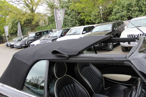 Mini Convertible COOPER SD -JCW AERO KIT- £7470 WORTH OF EXTRAS - SATNAV/DAB/XENON/KEYLESS 23