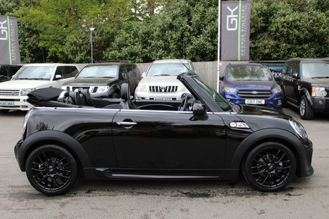 Mini Convertible COOPER SD -JCW AERO KIT- £7470 WORTH OF EXTRAS - SATNAV/DAB/XENON/KEYLESS 26