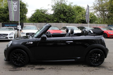 Mini Convertible COOPER SD -JCW AERO KIT- £7470 WORTH OF EXTRAS - SATNAV/DAB/XENON/KEYLESS 30