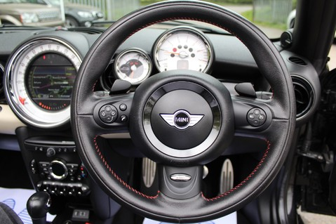 Mini Convertible COOPER SD -JCW AERO KIT- £7470 WORTH OF EXTRAS - SATNAV/DAB/XENON/KEYLESS 47
