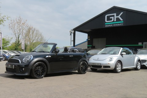 Mini Convertible COOPER SD -JCW AERO KIT- £7470 WORTH OF EXTRAS - SATNAV/DAB/XENON/KEYLESS 74