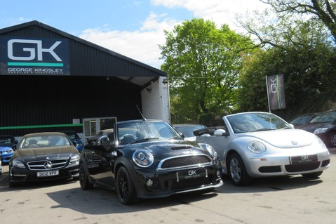 Mini Convertible COOPER SD -JCW AERO KIT- £7470 WORTH OF EXTRAS - SATNAV/DAB/XENON/KEYLESS 77