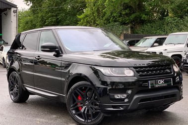 Land Rover Range Rover Sport 4.4SDV8 AUTOBIOGRAPHY DYNAMIC-REAR ENTERTAINMENT/EURO 6 /DIGITAL TV/CAMERAS