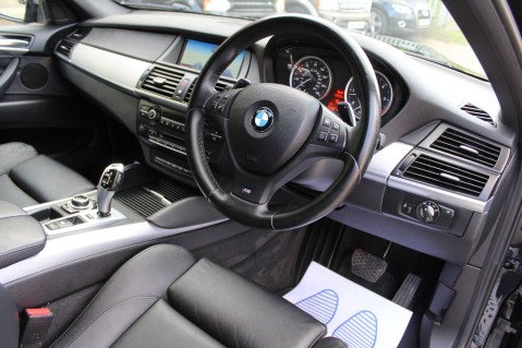 BMW X6 M50D -TOP VIEW CAMERA/PRO NAV/SUNROOF/HEATED SEATS/FULL BMW SERVICE HISTORY 3