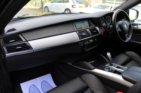 BMW X6 M50D -TOP VIEW CAMERA/PRO NAV/SUNROOF/HEATED SEATS/FULL BMW SERVICE HISTORY 23