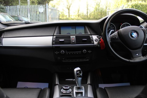 BMW X6 M50D -TOP VIEW CAMERA/PRO NAV/SUNROOF/HEATED SEATS/FULL BMW SERVICE HISTORY 26
