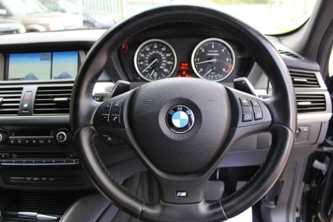 BMW X6 M50D -TOP VIEW CAMERA/PRO NAV/SUNROOF/HEATED SEATS/FULL BMW SERVICE HISTORY 37