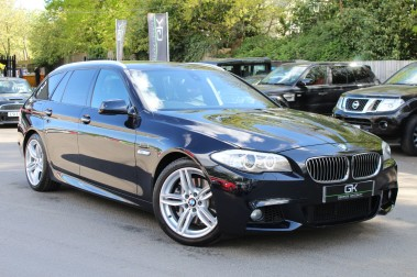 BMW 5 Series 530D M SPORT TOURING - PRO NAV / TOP VIEW CAMERAS / UPGRADED STEREO -FBMWSH