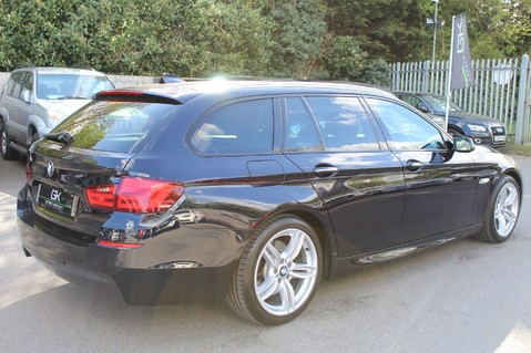 BMW 5 Series 530D M SPORT TOURING - PRO NAV / TOP VIEW CAMERAS / UPGRADED STEREO -FBMWSH 4