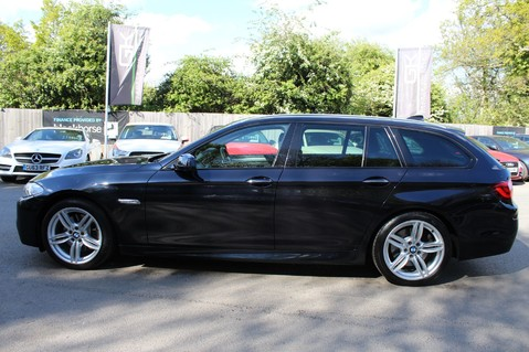 BMW 5 Series 530D M SPORT TOURING - PRO NAV / TOP VIEW CAMERAS / UPGRADED STEREO -FBMWSH 7