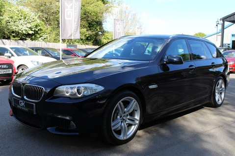 BMW 5 Series 530D M SPORT TOURING - PRO NAV / TOP VIEW CAMERAS / UPGRADED STEREO -FBMWSH 8
