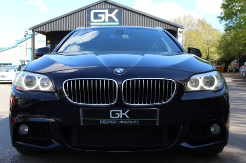 BMW 5 Series 530D M SPORT TOURING - PRO NAV / TOP VIEW CAMERAS / UPGRADED STEREO -FBMWSH 9