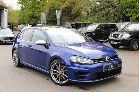 Volkswagen Golf R DSG - DISCOVER NAV PRO/PAN ROOF/LEATHER/PRETORIAS/DCC/CAMERA/LAPIS BLUE 1