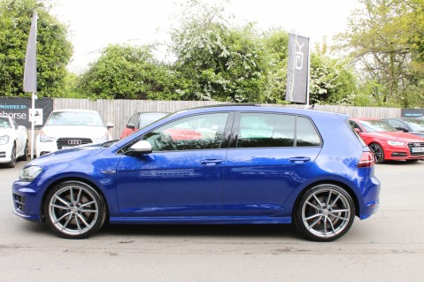 Volkswagen Golf R DSG - DISCOVER NAV PRO/PAN ROOF/LEATHER/PRETORIAS/DCC/CAMERA/LAPIS BLUE 6