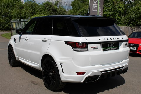 Land Rover Range Rover Sport 4.4 SDV8 AUTOBIOGRAPHY DYNAMIC OVERFINCH BODYKIT-ELECTRIC STEPS/TOWBAR 107
