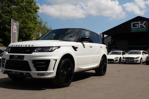 Land Rover Range Rover Sport 4.4 SDV8 AUTOBIOGRAPHY DYNAMIC OVERFINCH BODYKIT-ELECTRIC STEPS/TOWBAR 48