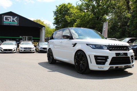 Land Rover Range Rover Sport 4.4 SDV8 AUTOBIOGRAPHY DYNAMIC OVERFINCH BODYKIT-ELECTRIC STEPS/TOWBAR 49