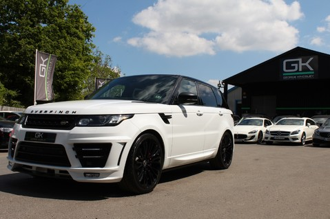 Land Rover Range Rover Sport 4.4 SDV8 AUTOBIOGRAPHY DYNAMIC OVERFINCH BODYKIT-ELECTRIC STEPS/TOWBAR 50