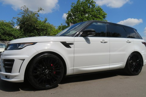 Land Rover Range Rover Sport 4.4 SDV8 AUTOBIOGRAPHY DYNAMIC OVERFINCH BODYKIT-ELECTRIC STEPS/TOWBAR 56