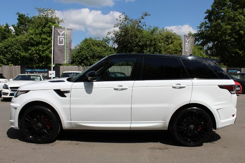 Land Rover Range Rover Sport 4.4 SDV8 AUTOBIOGRAPHY DYNAMIC OVERFINCH BODYKIT-ELECTRIC STEPS/TOWBAR 6