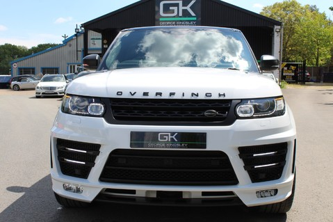 Land Rover Range Rover Sport 4.4 SDV8 AUTOBIOGRAPHY DYNAMIC OVERFINCH BODYKIT-ELECTRIC STEPS/TOWBAR 58