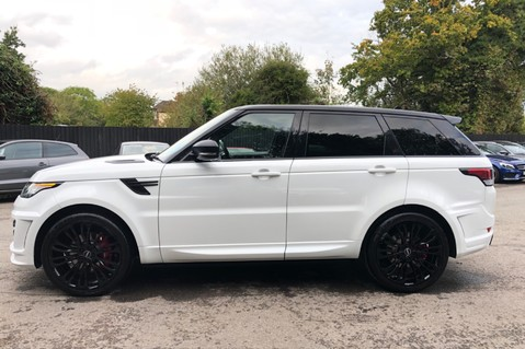 Land Rover Range Rover Sport 4.4 SDV8 AUTOBIOGRAPHY DYNAMIC OVERFINCH BODYKIT-ELECTRIC STEPS/TOWBAR 106