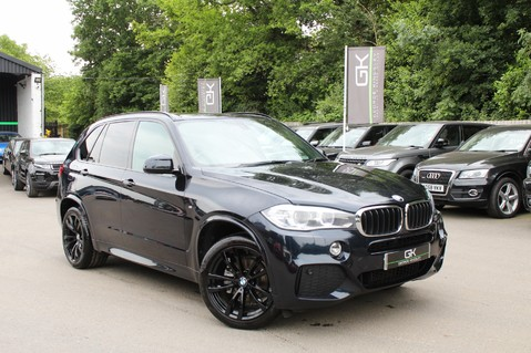 BMW X5 XDRIVE30D M SPORT 7 SEATER -EURO 6 - PAN ROOF/CAMERA/HEATED REAR SEATS 1