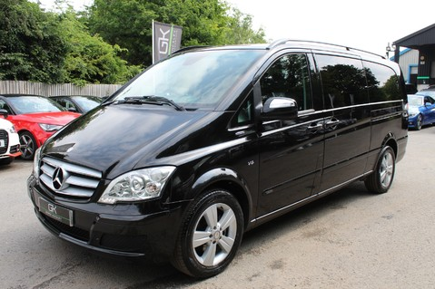 Mercedes-Benz Viano 3.0 122 CDI BLUEEFFICENCY AMBIENTE EXTRA LONG 8 SEATER AUTO - SAT NAV 9