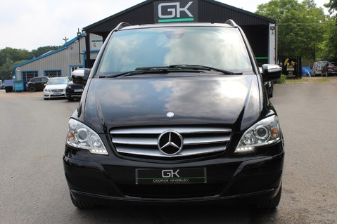 Mercedes-Benz Viano 3.0 122 CDI BLUEEFFICENCY AMBIENTE EXTRA LONG 8 SEATER AUTO - SAT NAV 10