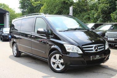 Mercedes-Benz Viano 3.0 122 CDI BLUEEFFICENCY AMBIENTE EXTRA LONG 8 SEATER AUTO - SAT NAV