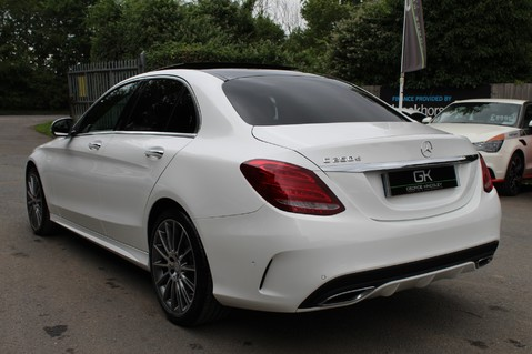 Mercedes-Benz C Class C250 D AMG LINE PREMIUM PLUS-EURO6- AIRMATIC -RED LEATHER-360 CAMERAS -LEDS 2