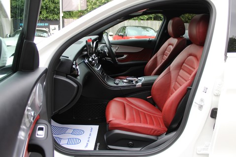 Mercedes-Benz C Class C250 D AMG LINE PREMIUM PLUS-EURO6- AIRMATIC -RED LEATHER-360 CAMERAS -LEDS 3
