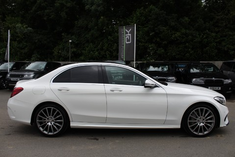 Mercedes-Benz C Class C250 D AMG LINE PREMIUM PLUS-EURO6- AIRMATIC -RED LEATHER-360 CAMERAS -LEDS 4