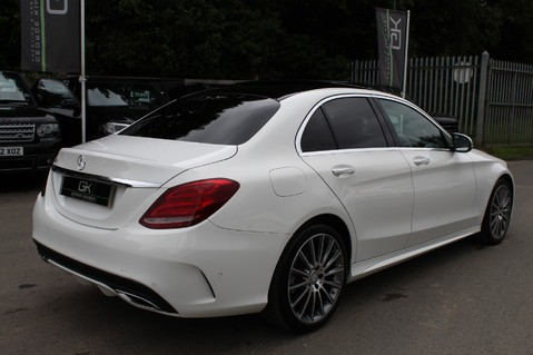 Mercedes-Benz C Class C250 D AMG LINE PREMIUM PLUS-EURO6- AIRMATIC -RED LEATHER-360 CAMERAS -LEDS 5