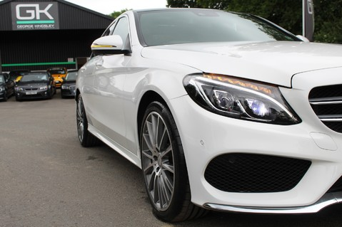 Mercedes-Benz C Class C250 D AMG LINE PREMIUM PLUS-EURO6- AIRMATIC -RED LEATHER-360 CAMERAS -LEDS 17
